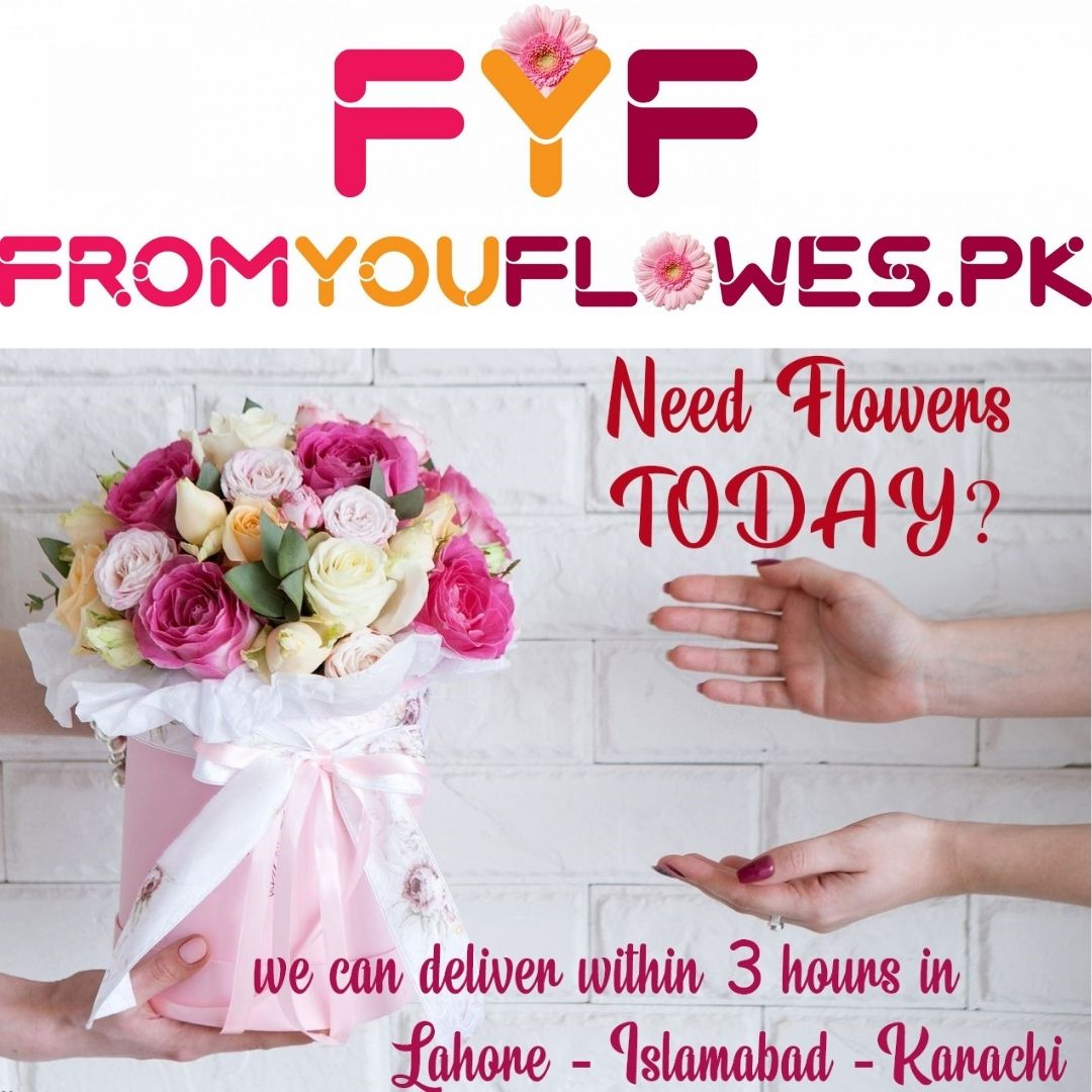 Flowers Delivery in Lahore